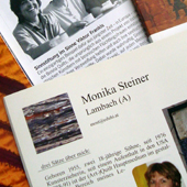 Publications by or about Monika Steiner